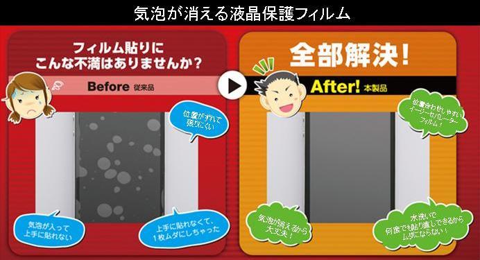 kobo touch液晶保護フィルム バッファロー
