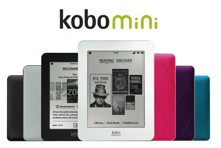 kobo mini スペック レビュー