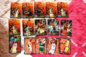 NBAトレカ(カード)15枚セット(3Dカード付き)