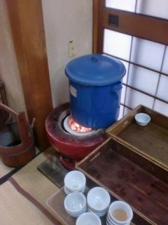 2013年01月01日 善寶寺・廊下お茶
