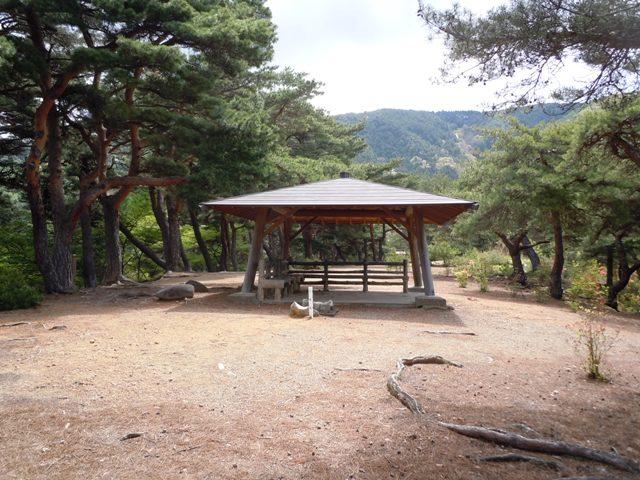 千鹿頭神社の砦 (7)