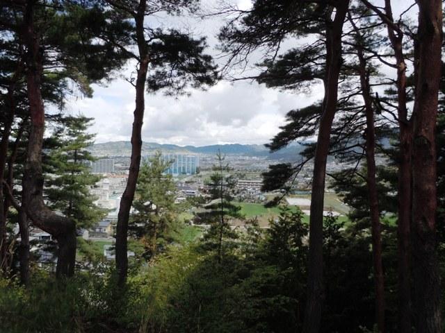 千鹿頭神社の砦 (6)
