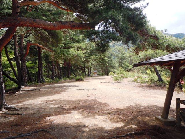 千鹿頭神社の砦 (9)