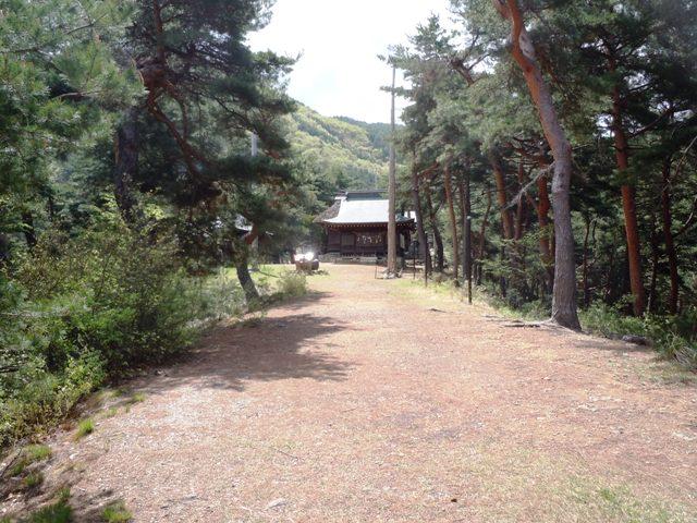 千鹿頭神社の砦 (12)