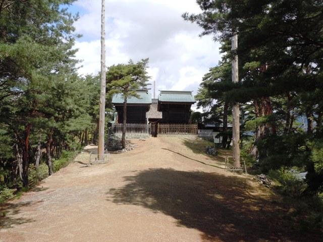 千鹿頭神社の砦 (18)