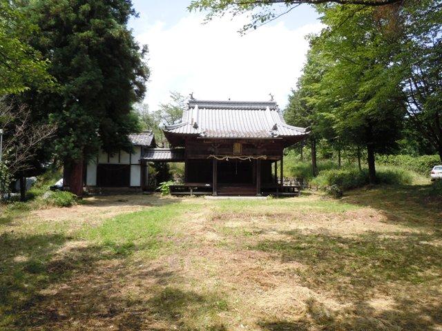 湯の入神社砦 (1)