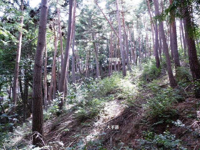 竹田城(山形村) (4)