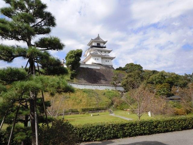 掛川城風景①