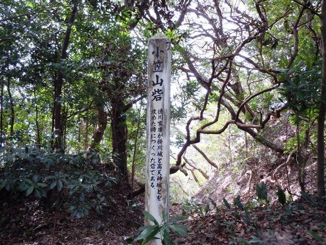 小笠山砦風景①