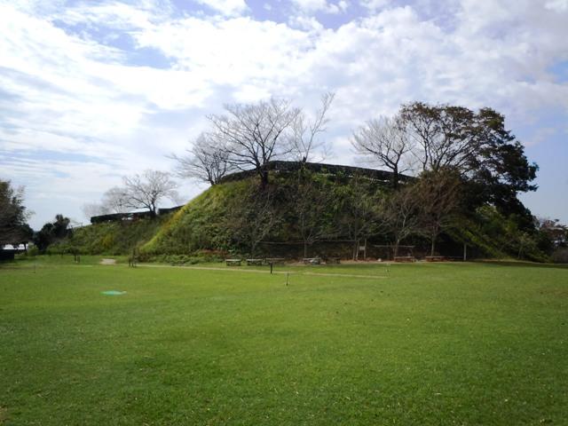 横須賀城風景①