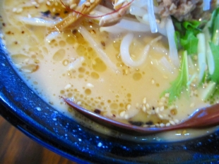 ふうらいぼう 濃厚味噌ラーメン スープ