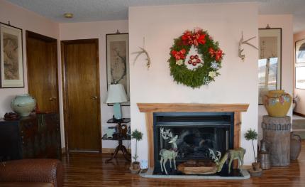 livingroomの暖炉