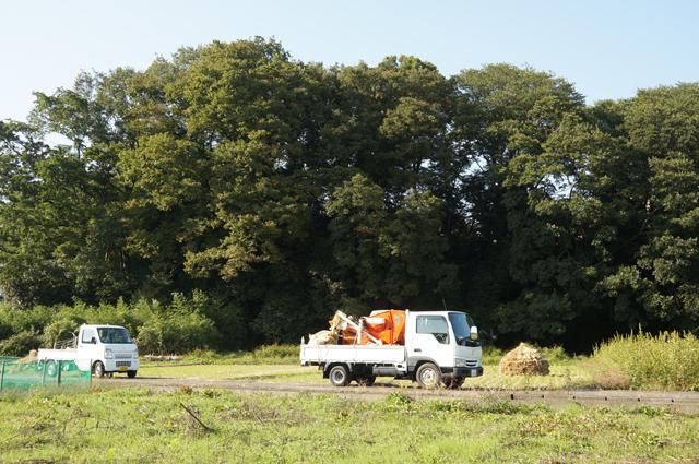 収穫に使用、マツダの商用車