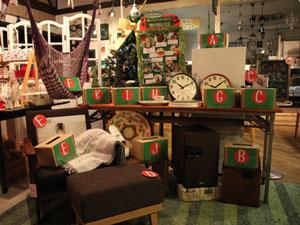 2013クリスマスプレゼント企画 店内写真