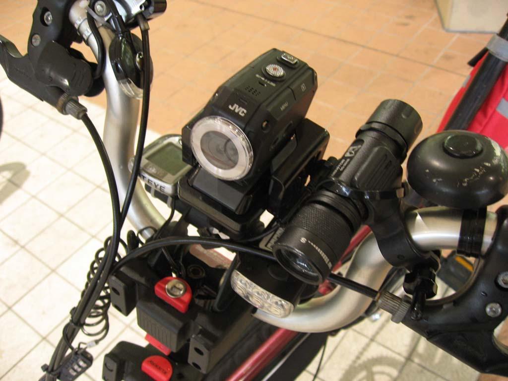 """自転車の 自転車 車載カメラ 振動 : """" を自転車の「車載カメラ ..."""