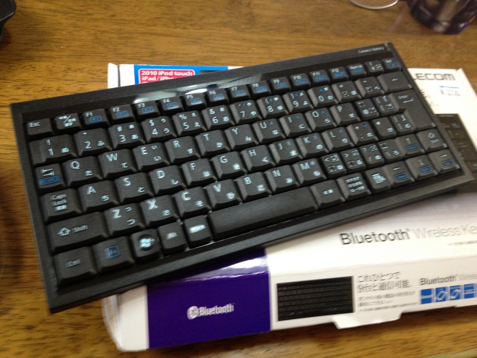 Elecom bluetooth wireless keyboard TK-FBP013BK