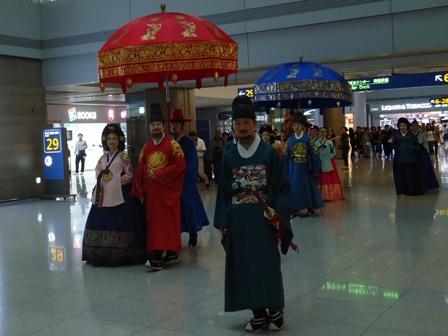 0617仁川空港行列