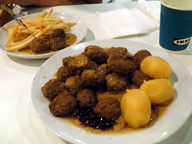 IKEAで食事