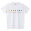 rainbow drops Tシャツ