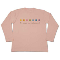 rainbow drops 長袖Tシャツ