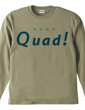 Quad!ロングTシャツ