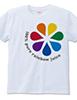 rainbow juice Tシャツ