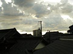 不気味な空・・・1