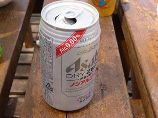 初ノンアルコールビール!!