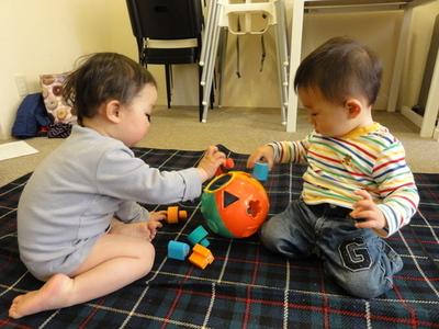 遊ぶ子ども 甲子園