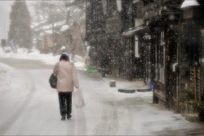 奈良井宿の冬