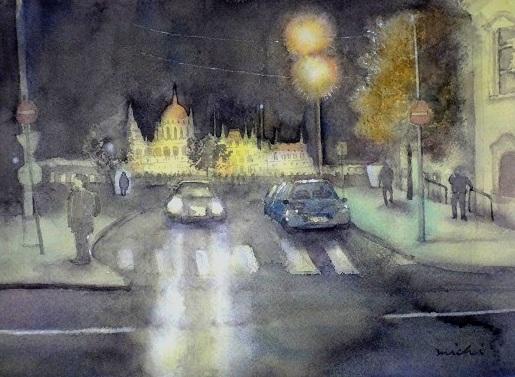 ブダペスト夜景B2