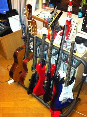 ギターラック