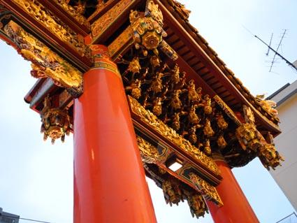 横浜中華街 お寺さん