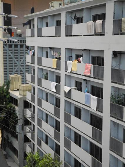 昭和的なアパート