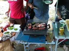 肉と火祭り