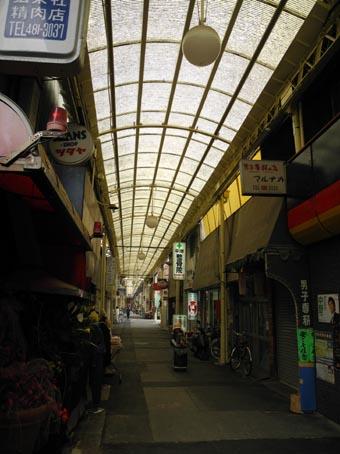 杭瀬の商店街