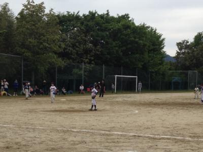 Yちゃんのソフトボールの試合2012