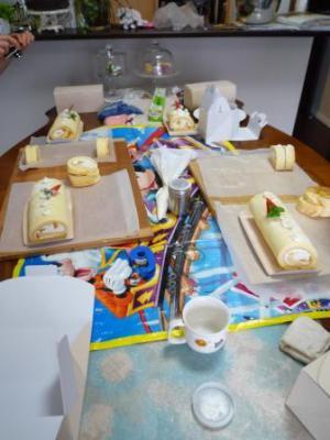 クリスマスお菓子教室11人P1220743