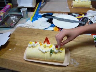 クリスマスお菓子教室4人P1220746