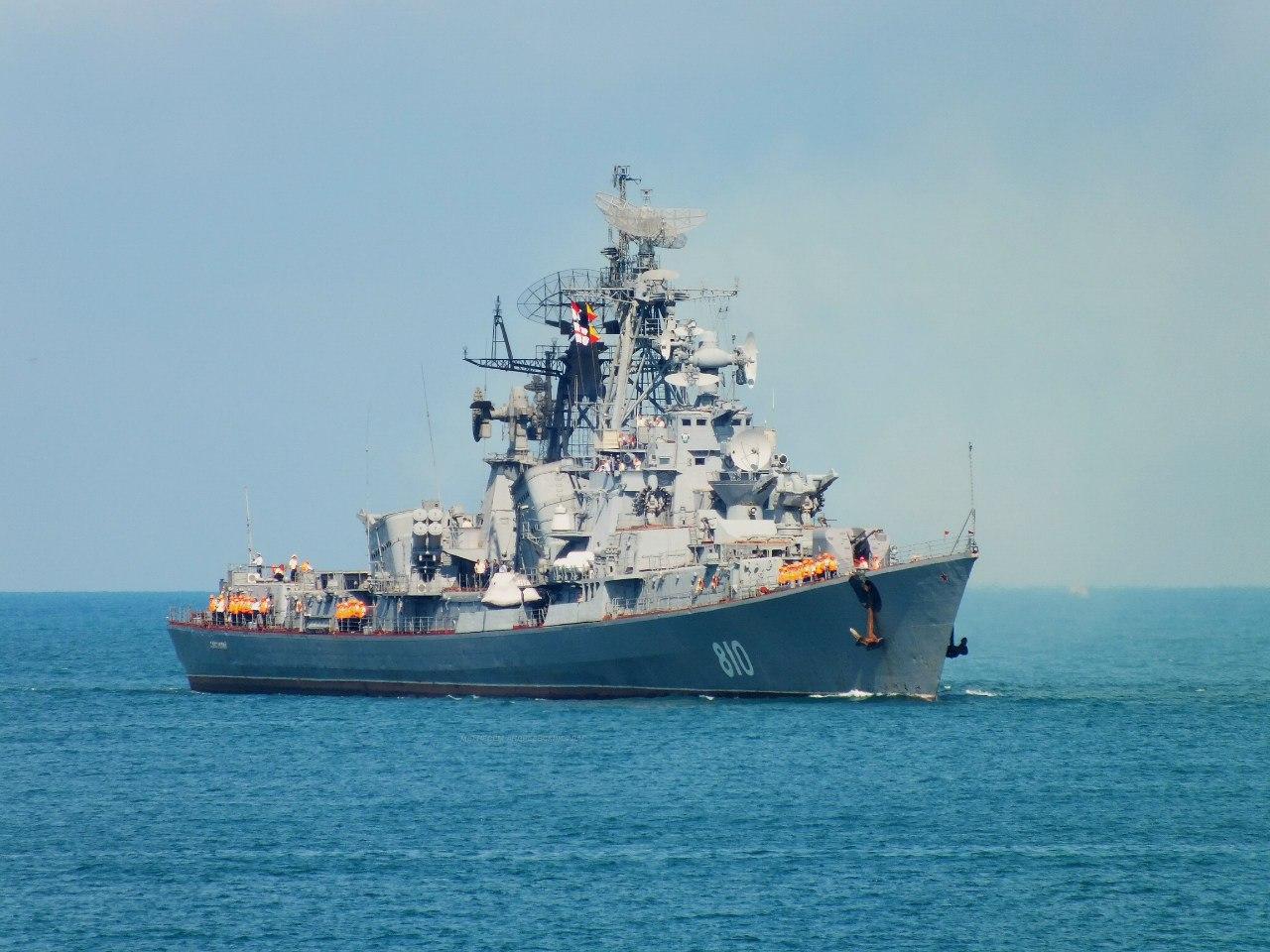 ロシア黒海艦隊艦船グループは地中海へ行く   N.G.クズネツォフ記念・ウリヤノフスク赤旗・親衛ロシア海軍情報管理局