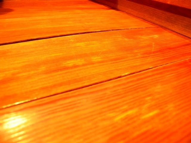 居間の床2