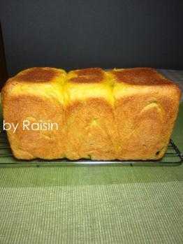 20120925かぼちゃ食パンbyレーズン酵母0