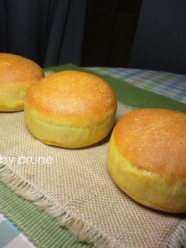 20120927かぼちゃバンズbyプルーン酵母0