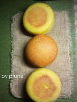 20120927かぼちゃバンズbyプルーン酵母1