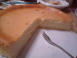 コスコチーズケーキcut