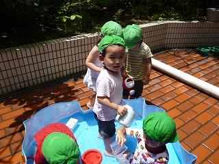 120717_保育園水遊び