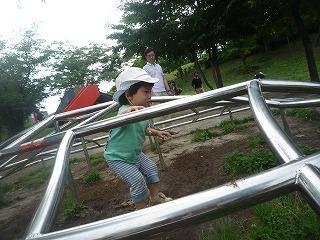 120623_檜町公園ジャングルジム (2)