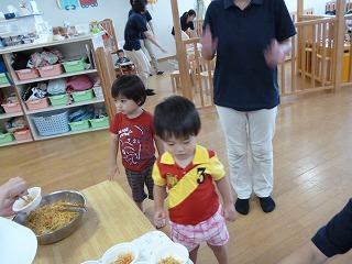 120824_保育園夏祭りおやつ
