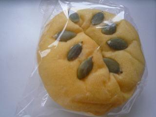 あこべる南瓜餡パン