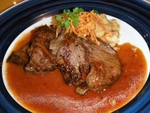 piaSapidoやわらか牛バベットステーキグレービーソース